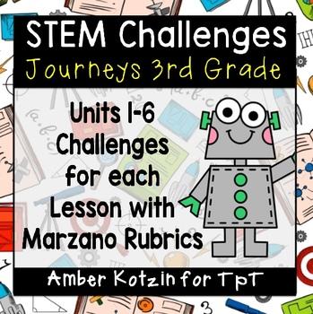 Journeys 3rd Grade Stem Challenges By Amber Kotzin Tpt