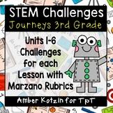 Journeys 3rd Grade: 30 STEM Challenges