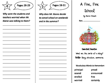 Journeys 3rd Grade Trifolds Bundle - Whole Year (2011)