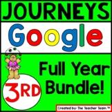Journeys 3rd Grade Unit 1-6 Google Classroom Bundle 2014  
