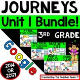 Journeys 3rd Grade Unit 1 Google Classroom Bundle 2014 | D