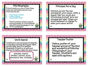 Journeys 3rd Grade Unit 1 Task Cards Supplemental Activities & Printables 2011