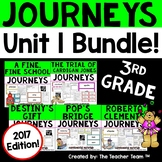 Journeys 3rd Grade Unit 1 Printables Bundle 2017 or 2014