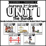 Journeys 3rd Grade Unit 1: The Bundle • Print & Google Slides