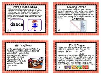 Journeys 3rd Grade Unit 2 Task Cards Supplemental Activities & Printables  2011