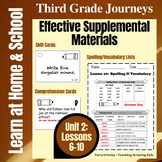 3rd Grade Journeys - Unit 2:  Effective Supplemental Materials