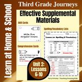 3rd Grade Journeys - Unit 2:  Effective Supplemental Materials
