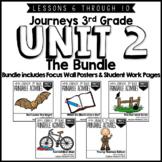 Journeys 3rd Grade Unit 2: The Bundle • Print & Google Slides