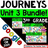 Journeys 3rd Grade Unit 3 Google Classroom Bundle 2014