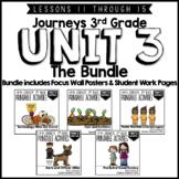 Journeys 3rd Grade Unit 3:  The Bundle • Print & Google Slides