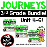 Journeys 3rd Grade Unit 4-6 Half Year Supplemental Activities & Printables 2011