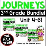 Journeys 3rd Grade Unit 4 - Unit 6  Printables Bundle | 2011