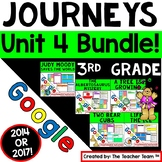 Journeys 3rd Grade Unit 4 Google Classroom Bundle 2014