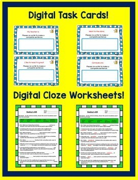 Journeys 3rd Grade Unit 4 Google Classroom Bundle 2014 | Distance Learning