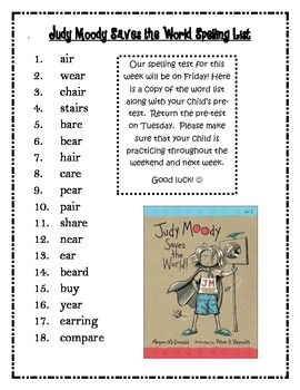 Journeys 3rd Grade Unit 4 Spelling