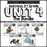 Journeys 3rd Grade Unit 4:  The Bundle • Print & Google Slides