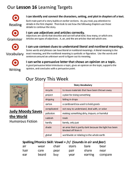 Journeys 3rd Grade Unit 4 Weekly Newsletters