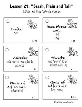 Journeys 3rd Grade - Unit 5 Student Study Guides & Activities for Lessons 21-25