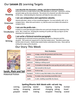 Journeys 3rd Grade Unit 5 Weekly Newsletters
