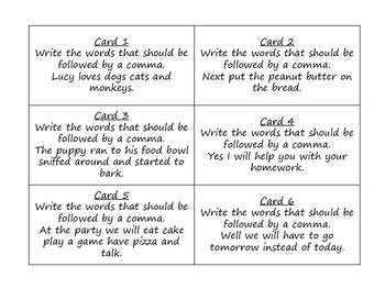 Journeys 3rd Grade Unit 6 Grammar Task Cards Bundle