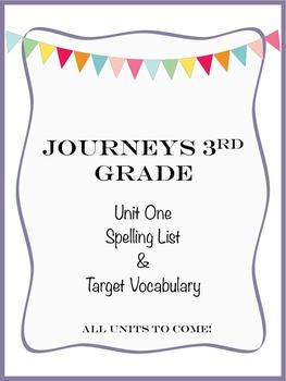 Journeys 3rd Grade Unit One
