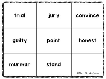 Journeys 3rd Grade Vocab Matching Game *BUNDLE*