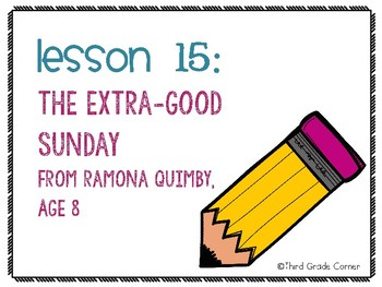 Journeys 3rd Grade Vocab Matching Game - The Extra Good Sunday