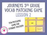 Journeys 3rd Grade Vocab Matching Game - Trial of Cardigan Jones