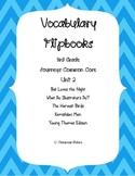 Journey's 3rd Grade Vocabulary Flipbooks: Unit 2