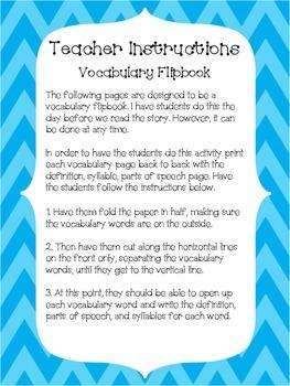Journey's 3rd Grade Vocabulary Flip-books: Unit 5
