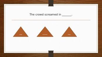 Journeys 3rd Grade Vocabulary PowerPoint : Pop's Bridge