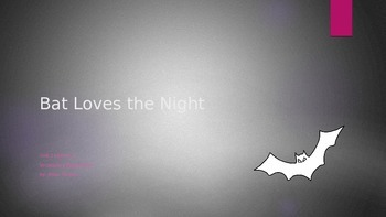 Journeys 3rd Grade Vocabulary Powerpoint Unit 2-1 Bat Loves the Night