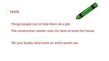 Journeys 3rd Grade Vocabulary Powerpoint Unit 2 Ln 7: What Do Illustrators Do?