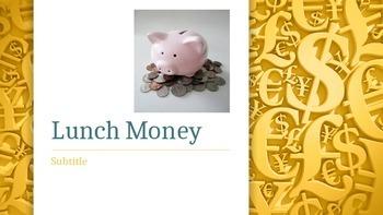 Journeys 4-20 Lunch Money Vocabulary Powerpoint