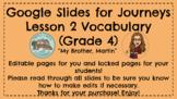 Journeys 4.2 Vocabulary Google Slides, Interactive for Stu