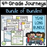 Journeys 4th Grade Bundle of Bundles - EVERYTHING ALL YEAR!