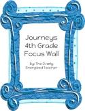 Journeys 4th Grade Focus Wall