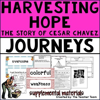 Harvesting Hope The Cesar Chavez Story Journeys 4th Grade