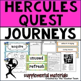 Hercules Quest Journeys 4th Grade Unit 4 Lesson 18 Activities and Printables