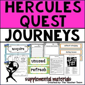 Hercules Quest Journeys 4th Grade Supplemental Materials
