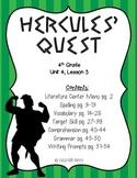 Journeys 4th Grade - Hercules' Quest: Unit 4, Lesson 3