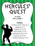 Journeys 4th Grade - Hercules' Quest: Unit 4, Lesson 3