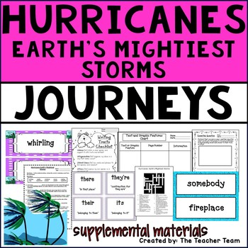 Hurricanes: Earth's Mightiest Storms Journeys 4th Grade Unit 3 Lesson 11