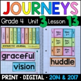 Journeys 4th Grade Lesson 13: Antarctic Journal Supplemental & Interactive pages