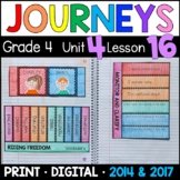 Journeys 4th Grade Lesson 16: Riding Freedom Supplements with GOOGLE Classroom