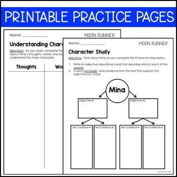 Journeys 4th Grade Lesson 18: Moon Runner (Supplemental & Interactive pages)