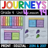 Journeys 4th Grade Lesson 19: Harvesting Hope (Supplemental & Interactive pages)