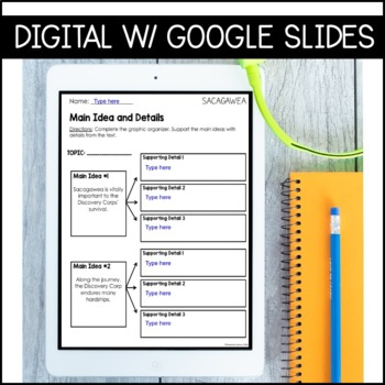 Journeys 4th Grade Lesson 20: Sacagawea (Supplemental & Interactive pages)