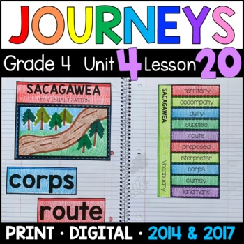 Journeys 4th Grade Lesson 20: Sacagawea (Supplemental & In