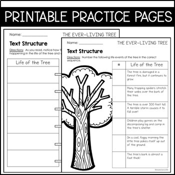 Journeys 4th Grade Lesson 23: The Ever Living Tree (Supplemental & Interactive)